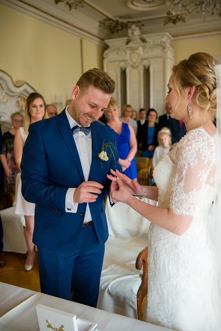 przysięga małżeńska - obrączki ślubne - ślub cywilny