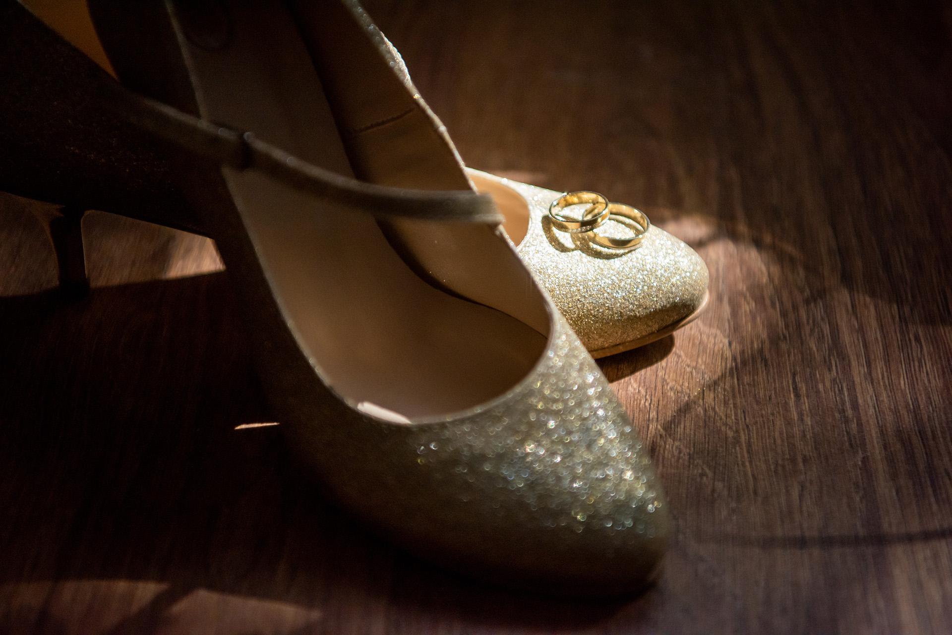 buty ślubne - w czym do ślubu - obrączki ślubne