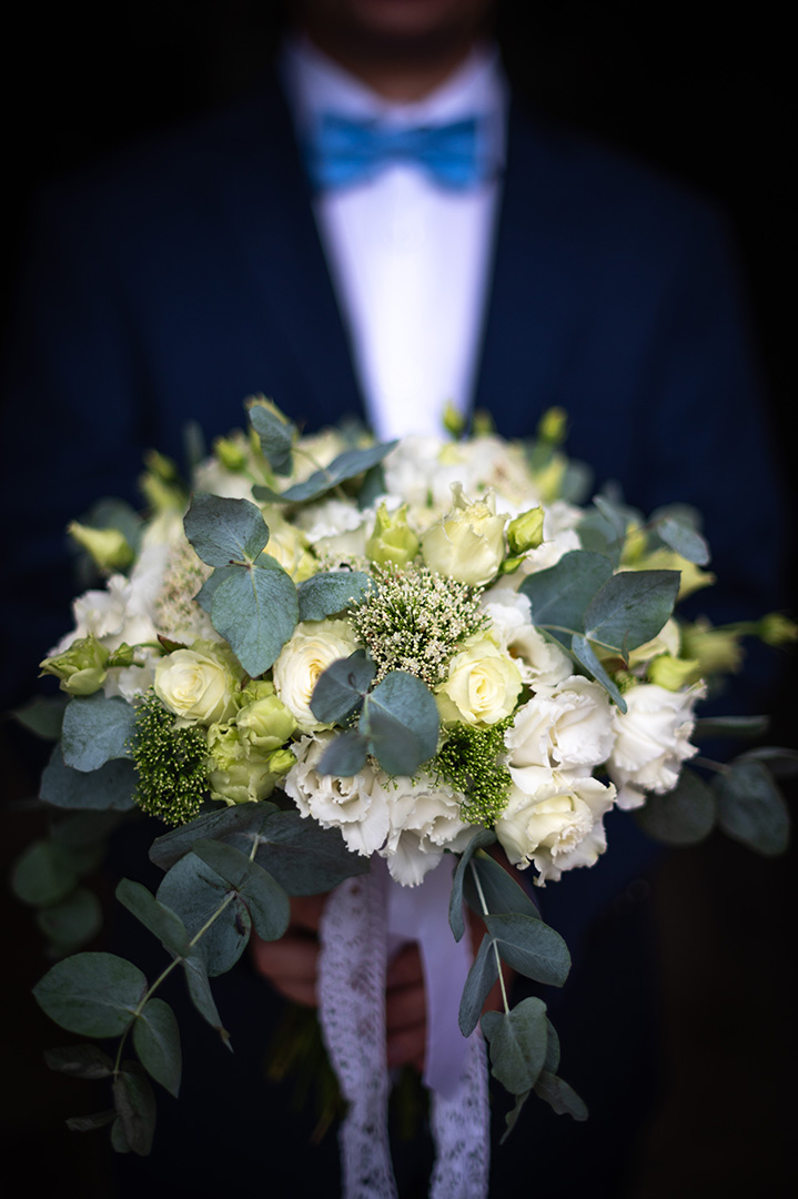 bukiet slubny zdjęcia ślubne przygotowania