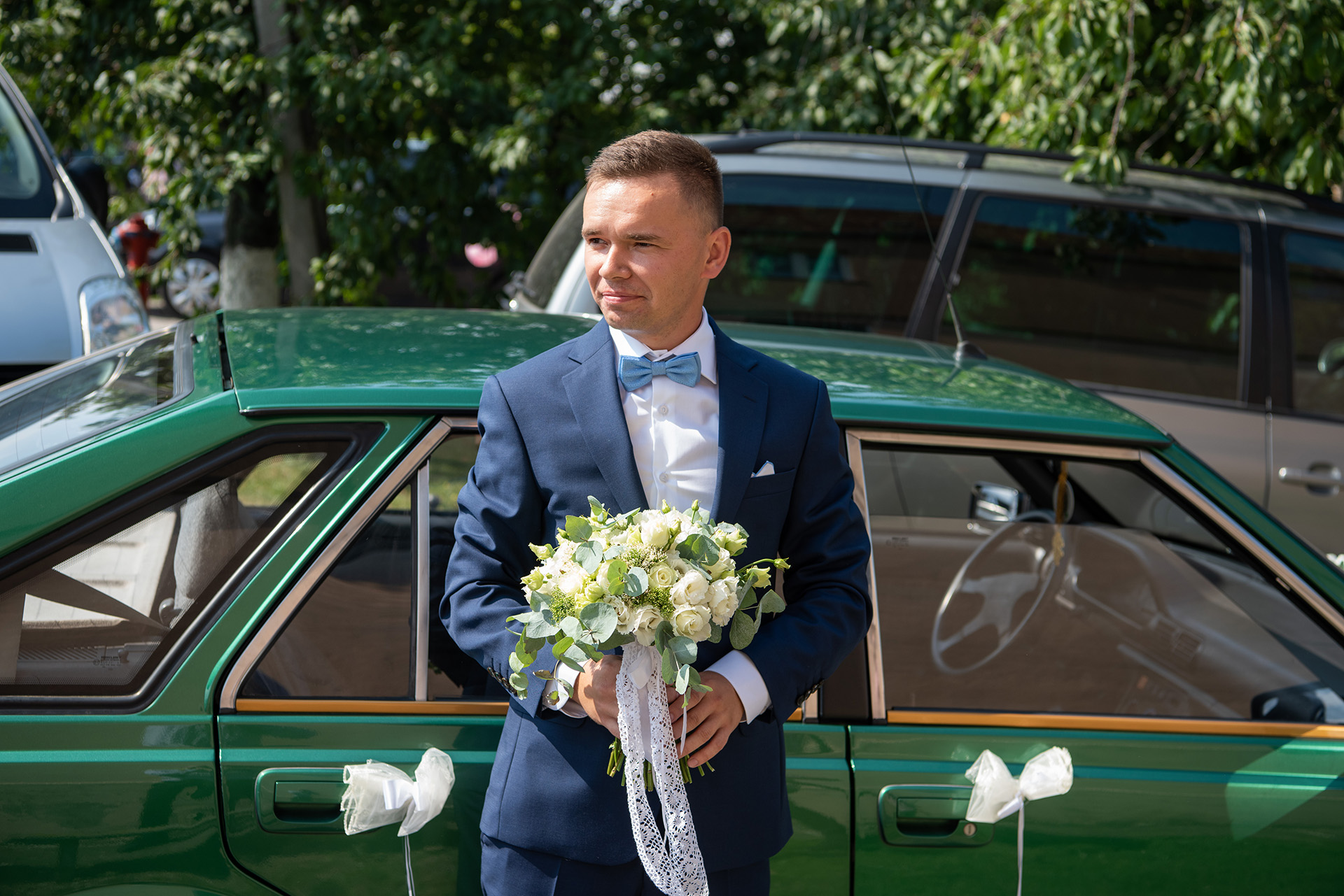 zdjęcia ślubne przygotowania