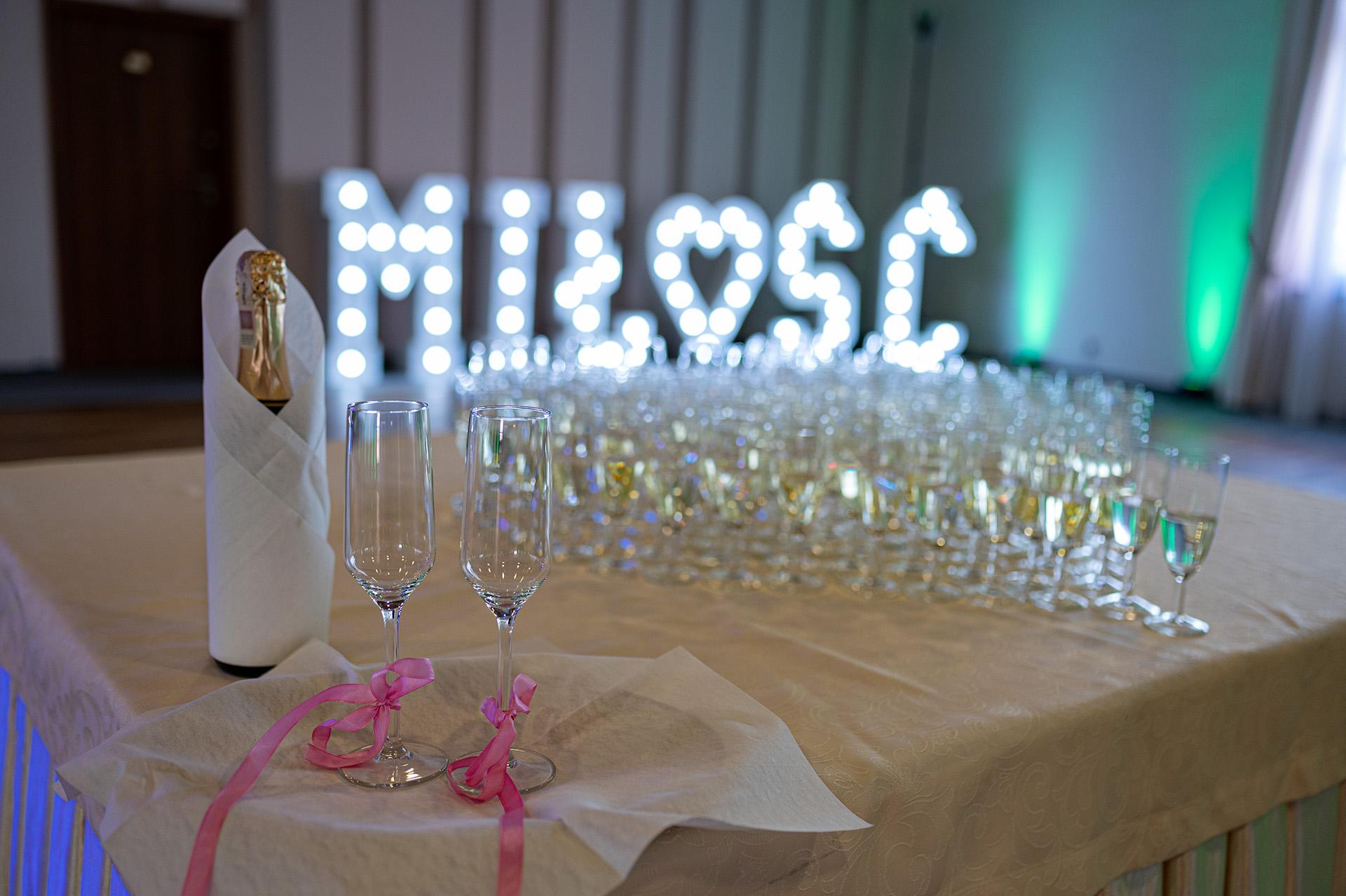 dekoracje ślubne zdjęcia ślubne przygotowania