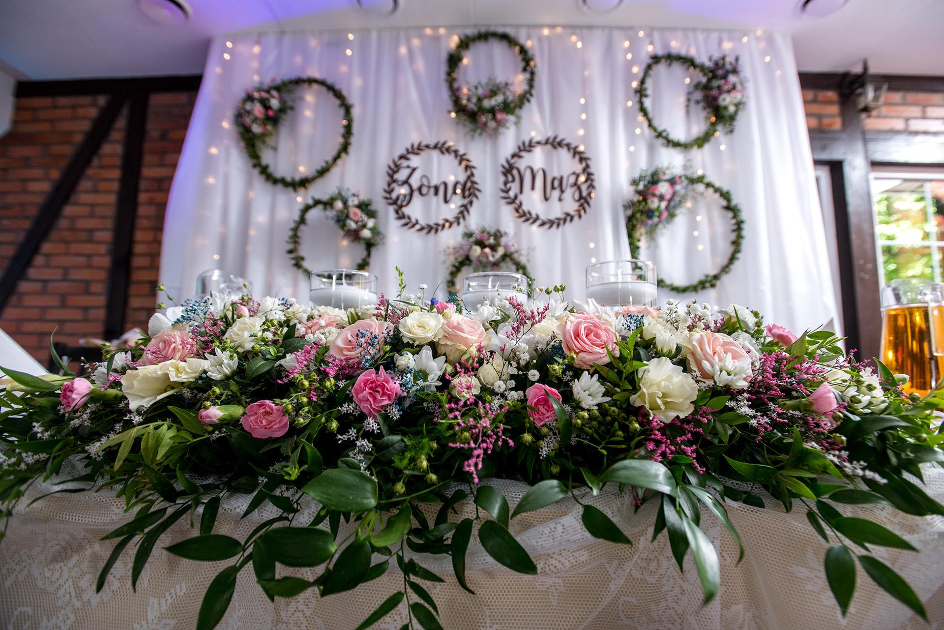 bukiet slubny wesele - fotograf ślubny - fotografia ślubna - zdjecia podczas wesela